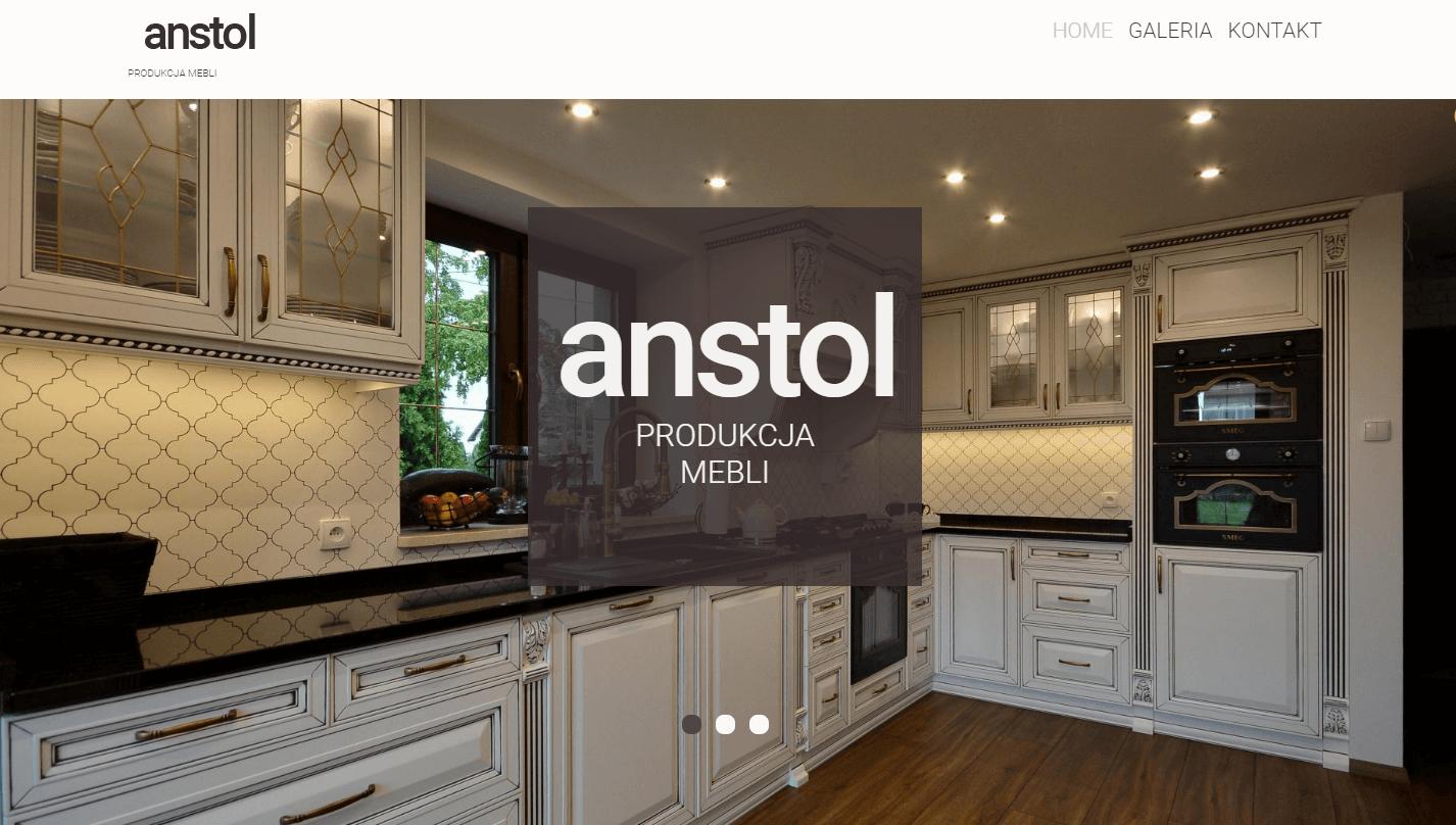 Strona internetowa anstol.elblag.pl